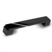 RITTO Ручка-скоба 128мм черный глянец US48A0B/128