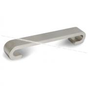 Ручка-скоба 128мм никель матовый US9106/128