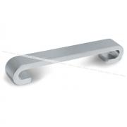 Ручка-скоба 128мм хром матовый US9108/128