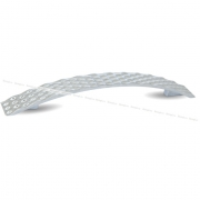 WAVE Ручка-скоба 128мм хром UU4004/128