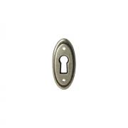 Накладка под ключ серебро состаренное WBC.8037/SP.00D5