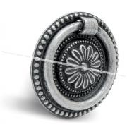 Ручка-капля серебро состаренное WBH.5017.00A.00E8