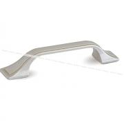 Ручка-скоба 96мм серебро Венецианское WMN.215.096.00M5