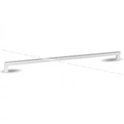 Ручка-скоба 320мм белый матовый с кристаллами Сваровски WMN.335K.320.KRN3
