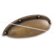 Ручка-раковина 64мм бронза состаренная WMN.5230.064.00D1