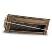 Ручка-раковина 96мм бронза состаренная WMN.610.096.00D1