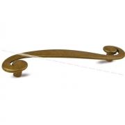 Ручка-скоба 96мм бронза состаренная WMN.614.096.00D1