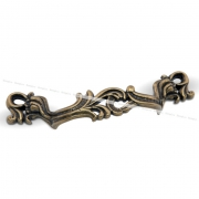 Ручка-скоба 96мм бронза состаренная WMN.631.096.00D1