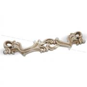 WMN.631.096.00V5 Ручка-скоба 96мм cлоновая кость/золото винтаж WMN.631.096.00T5