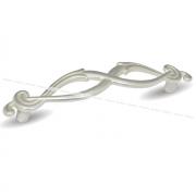 Ручка-скоба 96мм серебро Венецианское WMN.634.096.00M5
