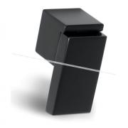 RITTO Ручка-кнопка черный глянец WP48A0B
