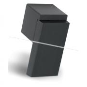RITTO Ручка-кнопка черный матовый WP48A0C