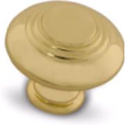 Ручка-кнопка D30мм золото WPO.2031.030.00GP