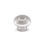 Ручка-кнопка D30мм серебро Ноттингем WPO.2031.030.00R3