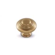Ручка-кнопка D30мм золото матовое Милан WPO.2031.030.00R8