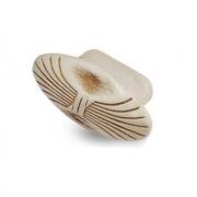 Ручка-кнопка cлоновая кость/золото винтаж WPO.503.000.00T5
