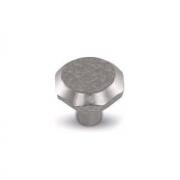Ручка-кнопка железо белое WPO.761.000.00C8