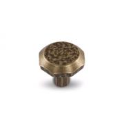 Ручка-кнопка бронза состаренная WPO.761.000.00D1