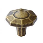 Ручка-кнопка бронза состаренная WPO.762.000.00D1