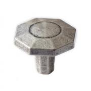 Ручка-кнопка серебро состаренное WPO.762.000.00E8