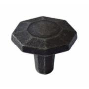 Ручка-кнопка железо черное WPO.762.000.00T2