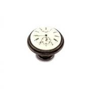 Ручка-кнопка D35мм бронза патинированная/керамика Watch WPO.77.01.Q1.000.B1