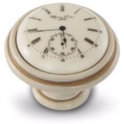 Ручка-кнопка D35мм cлоновая кость/золото винтаж керамика Watch WPO.77.01.Q1.000.T5