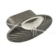 Ручка-кнопка серебро состаренное WPO.503.000.0024