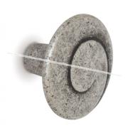 Ручка-кнопка D30мм серебро состаренное WPO.602.030.00E8