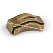 Ручка-кнопка 32мм бронза состаренная WPO.604.032.00D1