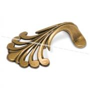 Ручка-кнопка 32мм бронза состаренная WPO.626.B32.00D1