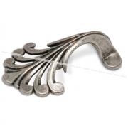 Ручка-кнопка 32мм серебро состаренное WPO.626.B32.00E8