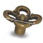 Ручка-кнопка бронза состаренная WPO.636.031.00D1