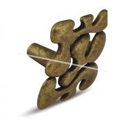 Ручка-кнопка 32мм бронза состаренная WPO.648.032.00D1