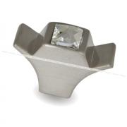Ручка-кнопка нерж. сталь с кристаллами Сваровски WPO.667.000.KR03