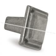 Ручка-кнопка серебро состаренное WPO.683.028.00E8