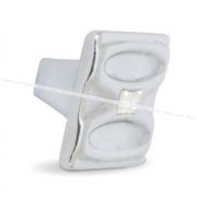 Ручка-кнопка хром с кристаллами Сваровски WPO.694.000.KR02