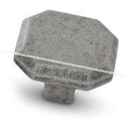 Ручка-кнопка серебро состаренное WPO.752.000.00E8